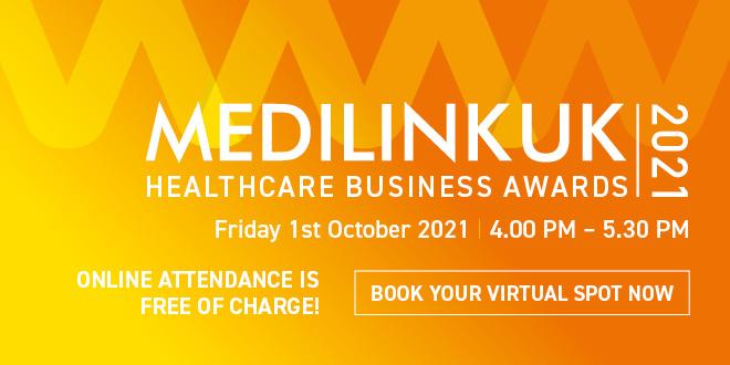 Medilink UK Healthcare Business Awards 2021 – Finalists announced!