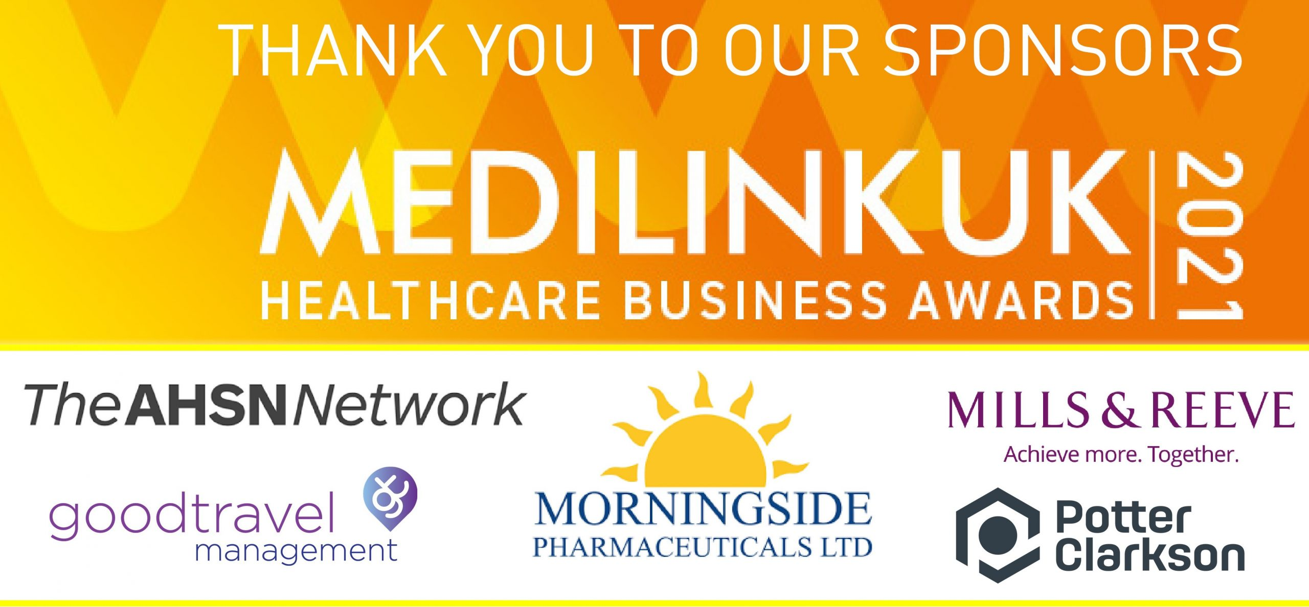 ANOTHER YEAR OF CELEBRATION AT THE VIRTUAL MEDILINK UK HEALTHCARE BUSINESS AWARDS